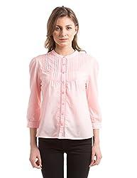 Prym Women's Body Blouse Shirt (1011518501_Pale Pink_Large)