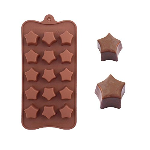 Silicone Cake Mold Stars Paragraph Jelly Ice Cream Maker Chocolate Ice Cream Moulds Kitchen Bakeware Special Tools
