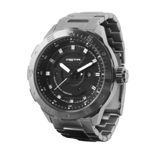 MSTR Diver One Watch Silver