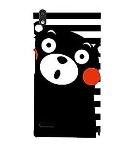 BLACK TEDDY BEAR CARTOONISH PIC 3D Hard Polycarbonate Designer Back Case Cover for Huawei Google Nexus 6P :: Google Nexus 6P :: Nexus 6P