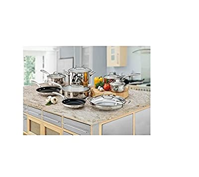 Cuisinart 14 Pc. Stainless Steel Cookware Set