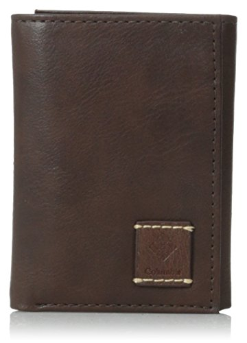 Columbia Men'S Anderson Lake Collection Trifold Wallet, Brown, One Size