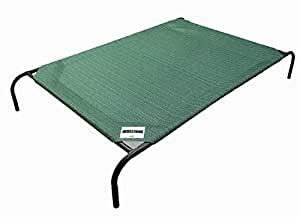 Coolaroo Elevated Pet Bed Large Brunswick Green