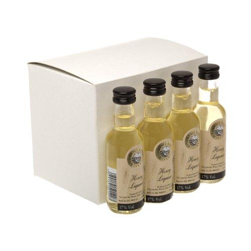 Honey Liqueur 5cl Miniature by Lyme Bay - 12 Pack