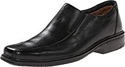 Clarks Unstructured Men\'s Un.Sheridan Dress Casual Slip On,Black,9.5 M US