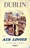 Moonlizard Aer Lingus Ireland Travel Poster 8