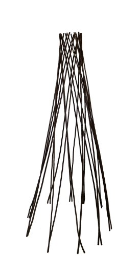 Master Garden Products Willow Round Teepee Trellis, 60-Inch front-87722