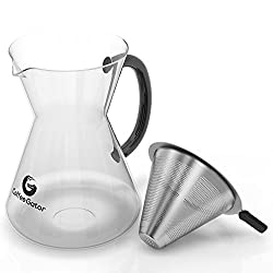 Pour over coffee maker 3 cup by Coffee Gator. from Coffee Gator