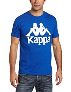 Kappa Men's Authentic Logo T-Shirt, Royal, Medium