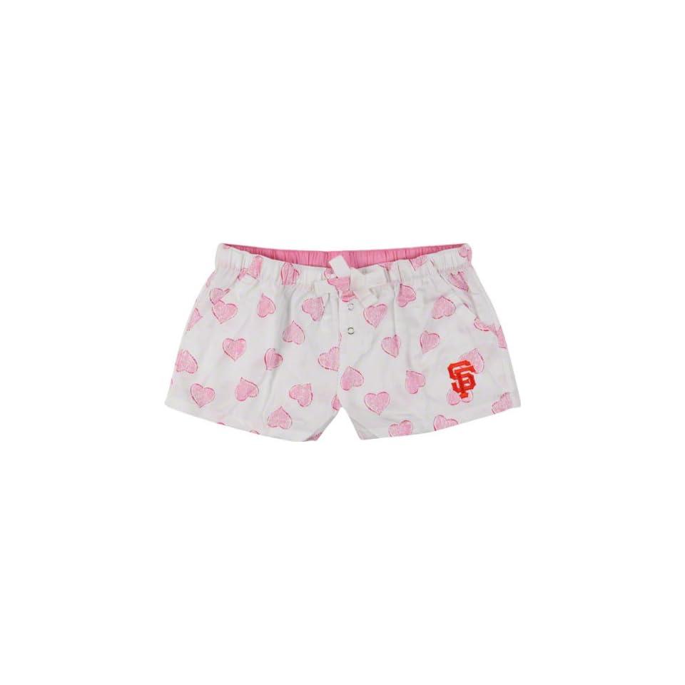 San Francisco Giants Womens Pink Essence Shorts