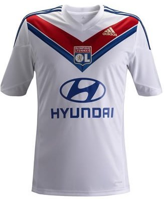 Olympique Lyonnais 2013-14 Home Football Shirt
