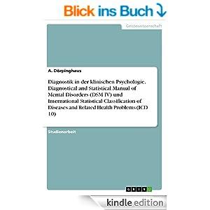 diagnostic and statistical manual of mental disorders dsm iv
