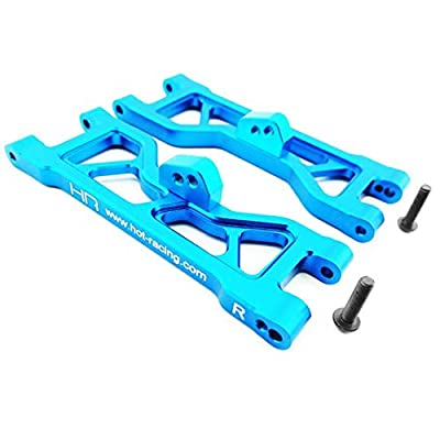 HRAECT5506 ECT5506 Blue Aluminum Front Arm Set ECX