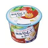 グリコ 朝食りんごヨーグルト145g 12個