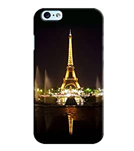 Omnam Eiffil Tower Printed Designer Back Cover Case For Apple Iphone 6 Plus