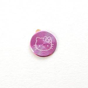 Ethahe iphone ipod touch aluminum home button sticker hello kitty pattern rosarot - Hello kitty fernseher ...