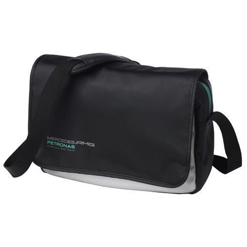 mercedes-amg-petronas-messenger-bag-umhangtasche-schwarz-silber