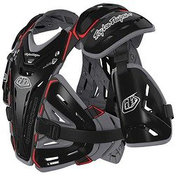Troy Lee Designs  Shock Doctor CP5955 Chest Protector (MEDIUM) (BLACK)