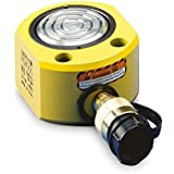 "Enerpac RSM-200 Flat Jac Single-Acting Low-Height Hydraulic Cylinder with 20-Ton Capacity, Single Port, 0.44"" Stroke Length"