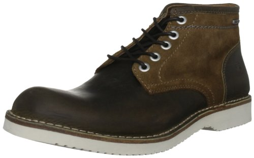 G-Star Men's Garrett Ii Burroughs Lthr Dark Brown/Tan Lace Up Boot GS13850/342 11 UK, 45 EU, 12 US