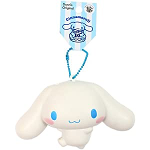Rare Cinnamoroll Squishy Website : Amazon.com: Sanrio 10th Anniversary Cinnamoroll Squishy Mascot with Ball Chain: Toys & Games