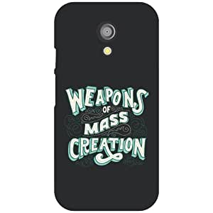 Via flowers Mass Creation Matte Finish Phone Cover For Motorola Moto G (2nd Gen)