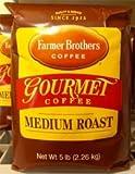 Farmer Brothers Ground Coffee - Medium Roast, 5 Lb. Bag