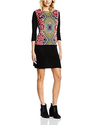 Janis Vestido (Negro / Multicolor)