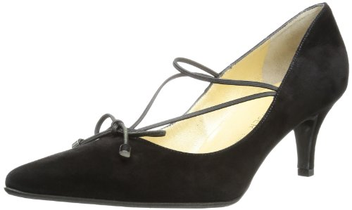 Peter Kaiser Womens SORBA Pumps Black Schwarz (SCHWARZ SUEDE 240) Size: 37 EU/4 UK