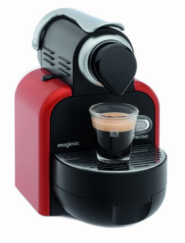 Nespresso Essenza by Magimix M100, Glam Red