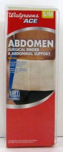 soft-touch-surgical-binder-abdominal-support-size-s-m-by-walgreens-by-ace