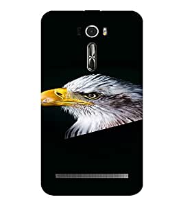 PrintVisa Eagle Bird Design 3D Hard Polycarbonate Designer Back Case Cover for Asus Zenfone 2 Laser ZE601KL