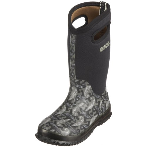 Bogs Youth Classic High Salamanders Black Wellingtons Boot 52154 1 UK