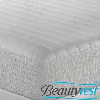 Beautyrest 300 Thread Count Egyptian Cotton Mattress Pad front-1001472