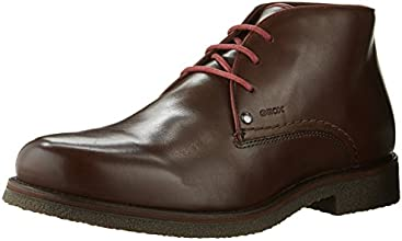Geox Uomo Claudio,  Marrone Marrone (Dark Brown) 46