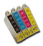 The Ink Squid 1 Set Of T0611/T0612/T0613/T0614 (T0615 'Teddy Bear') High Capacity Compatible Ink Cartridges For Epson Stylus 68 Printer