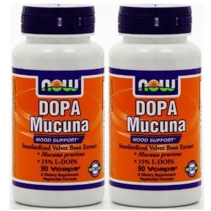 【バリュー2本セット】[海外直送品] NOW Foods ドーパ ムクナ 90粒 DOPA Mucuna - 90 Vcaps [ヘルスケア&ケア用品]