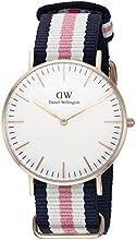 Comprar Daniel Wellington 0506DW - Reloj con correa de acero para mujer, color blanco / gris
