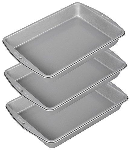 Wilton Recipe Right 9x13 Oblong Pan, 3-Pack (Wilton Recipe Right 3 Piece compare prices)