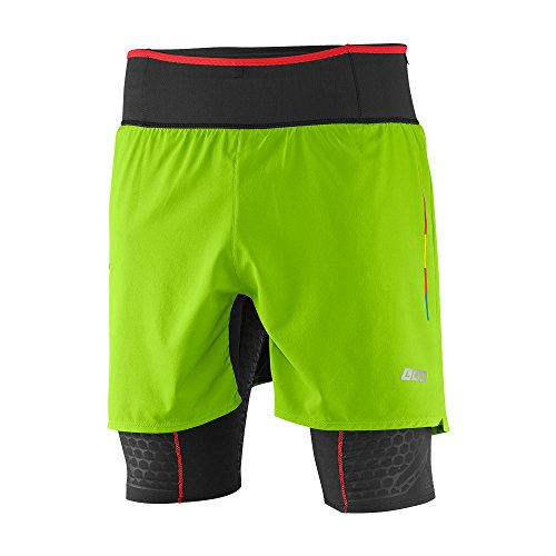 Salomon S-Lab EXO TW Short Men Granny Green Black XL