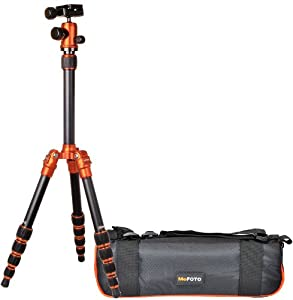 Benro MeFoto A1350Q1R Transfunctional Tripod Kit (Orange)