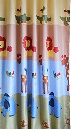 Animal Shower Curtain (Animal, 71″ x 71″)