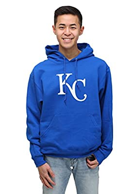 Kansas City Royals Mens Royal Majestic Scoring Position Hoodie Sweatshirt
