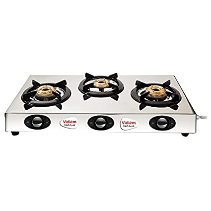 Tiro Plus Gas Cooktop (3 Burner)