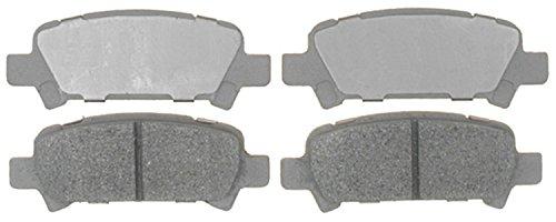 ACDelco 14D770M Advantage Semi-Metallic Rear Disc Brake Pad Set