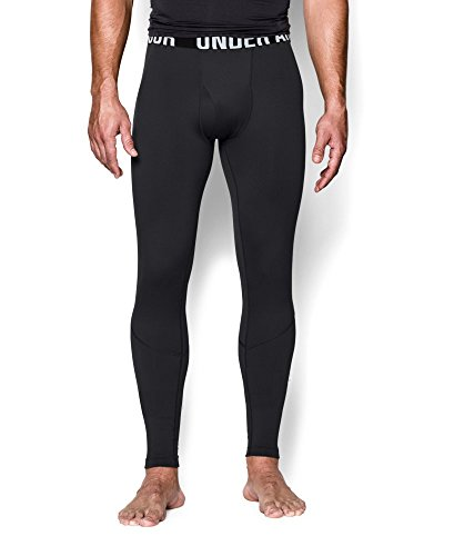 Under Armour Men's ColdGear Infrared Tactical Fitted Leggings, Large, Black