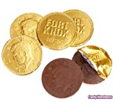 Fort Knox Milk Chocolate Gold Coins – 3 Pound Bulk Bag