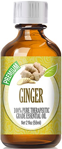 Ginger (60ml) 100% Pure, Best Therapeutic Grade Essential Oil - 60ml / 2 (oz) Ounces