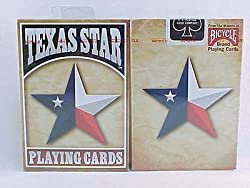1 Deck Texas Star Flag Bicycle Playing Cards