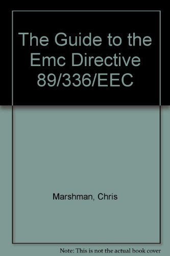 The Guide to the Emc Directive 89/336/EEC
